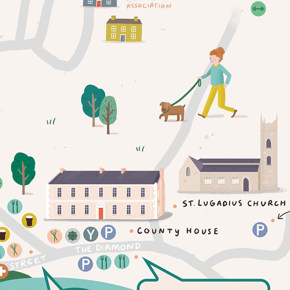 lifford-irish-illustrated-map-ruth-graham-design-illustrator